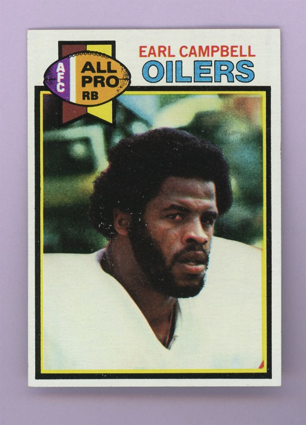 1979 Topps #390 Earl Campbell RC