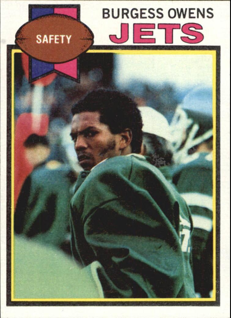 1979 Topps #482 Burgess Owens
