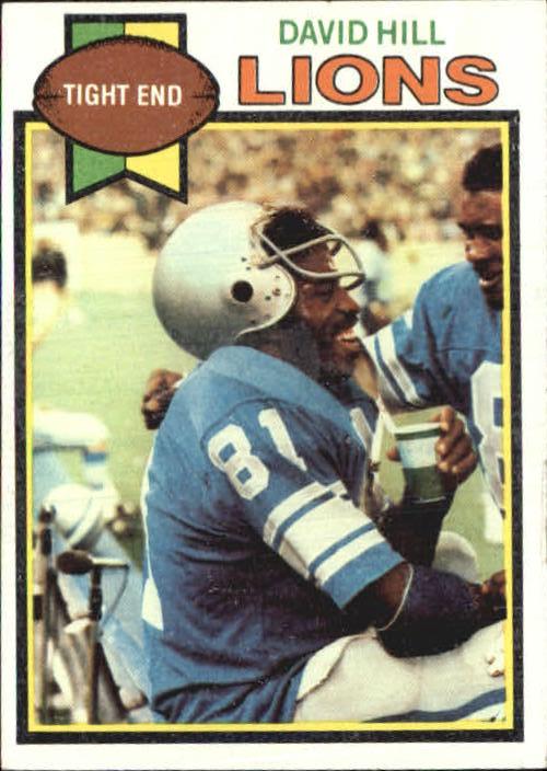 1979 Topps #509 David Hill