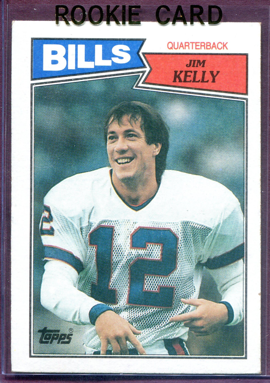 1987 Topps #362 Jim Kelly RC