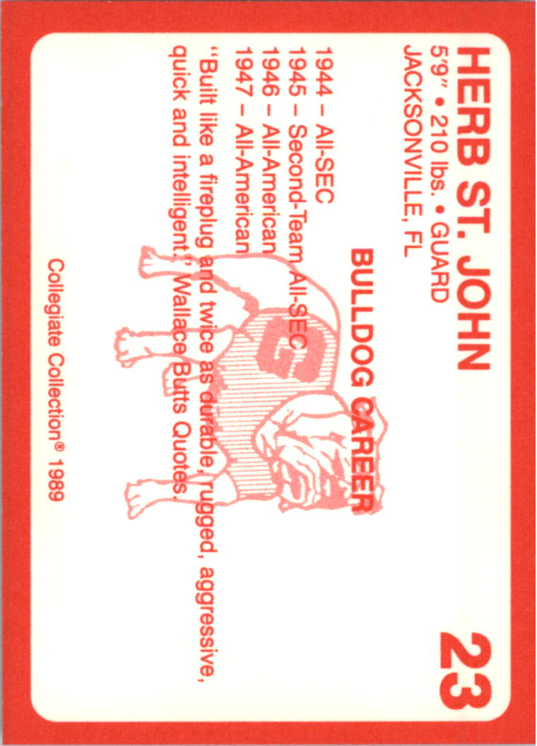 1989-Georgia-200-Football-Card-Pick thumbnail 19
