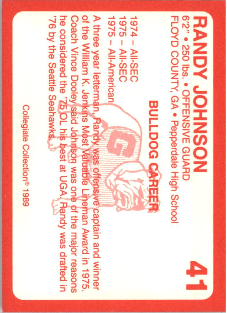 1989-Georgia-200-Football-Card-Pick thumbnail 37