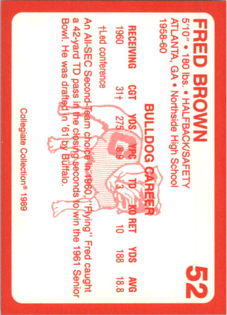 1989-Georgia-200-Football-Card-Pick thumbnail 49