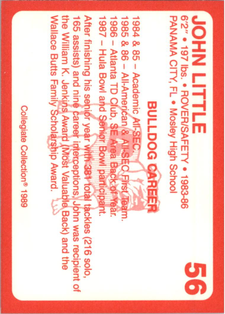 1989-Georgia-200-Football-Card-Pick thumbnail 57