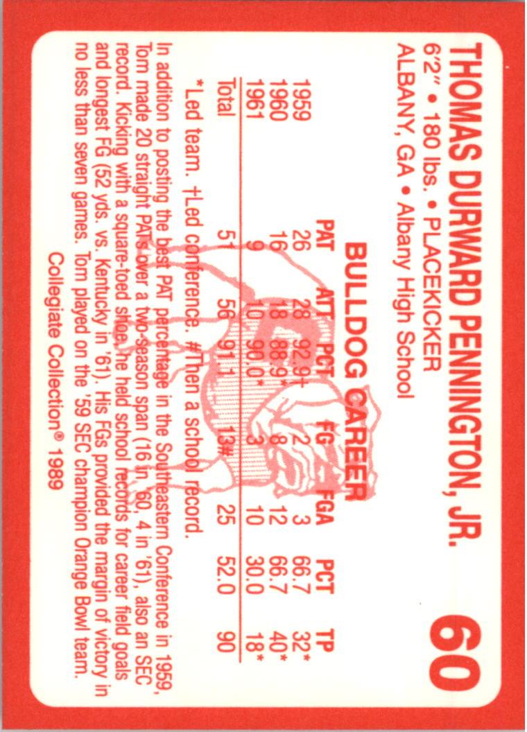 1989-Georgia-200-Football-Card-Pick thumbnail 59