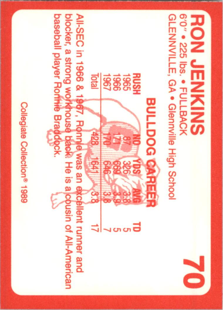 1989-Georgia-200-Football-Card-Pick thumbnail 69