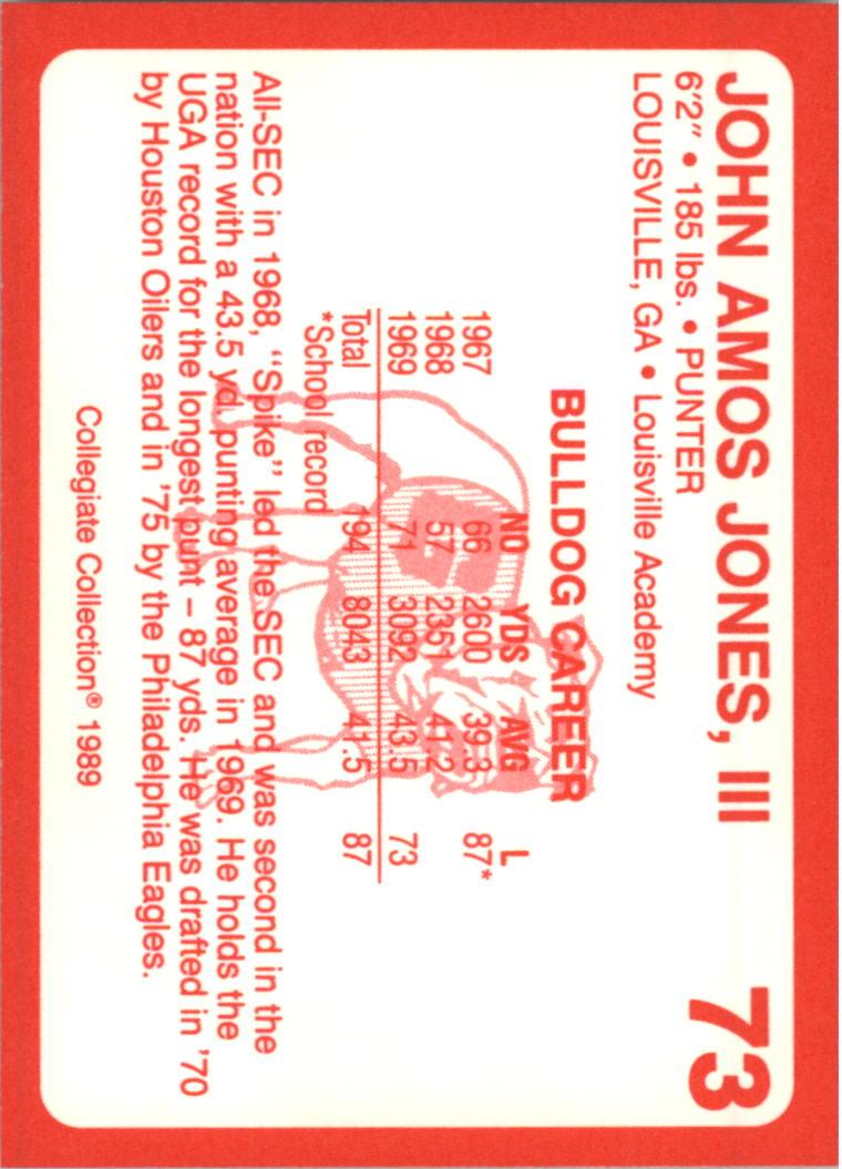 1989-Georgia-200-Football-Card-Pick thumbnail 71