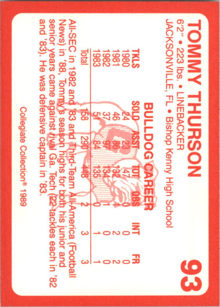 1989-Georgia-200-Football-Card-Pick thumbnail 89
