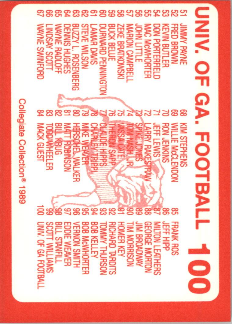 1989-Georgia-200-Football-Card-Pick thumbnail 99