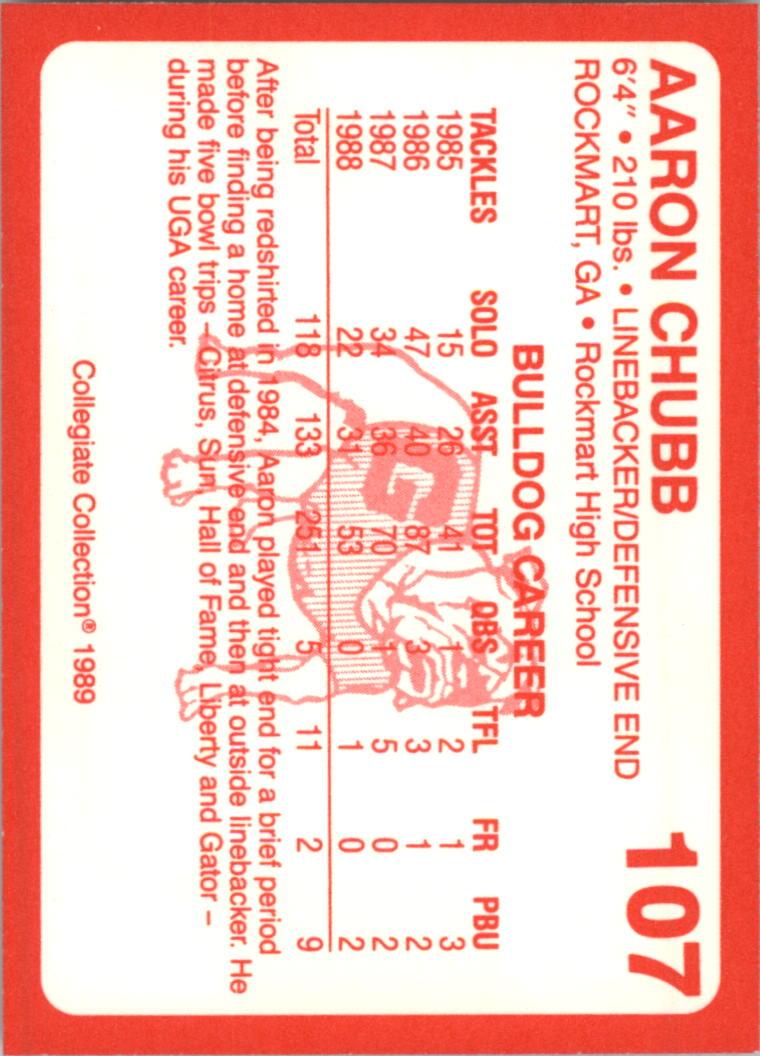 1989-Georgia-200-Football-Card-Pick thumbnail 111