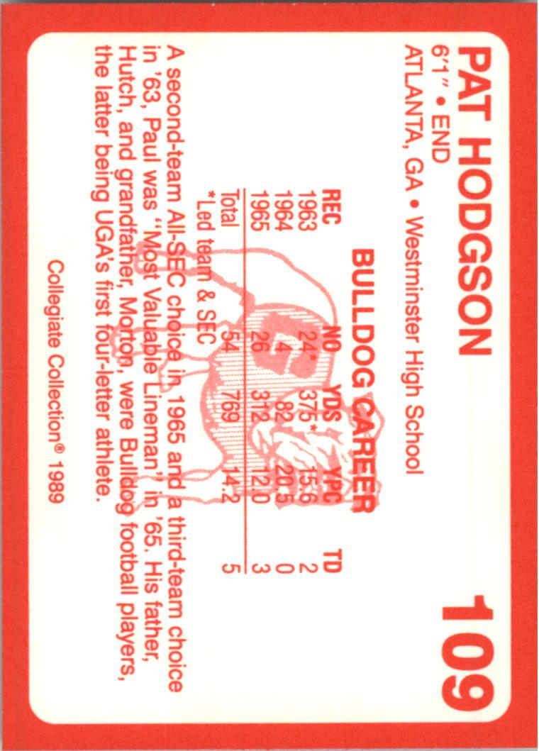 1989-Georgia-200-Football-Card-Pick thumbnail 113