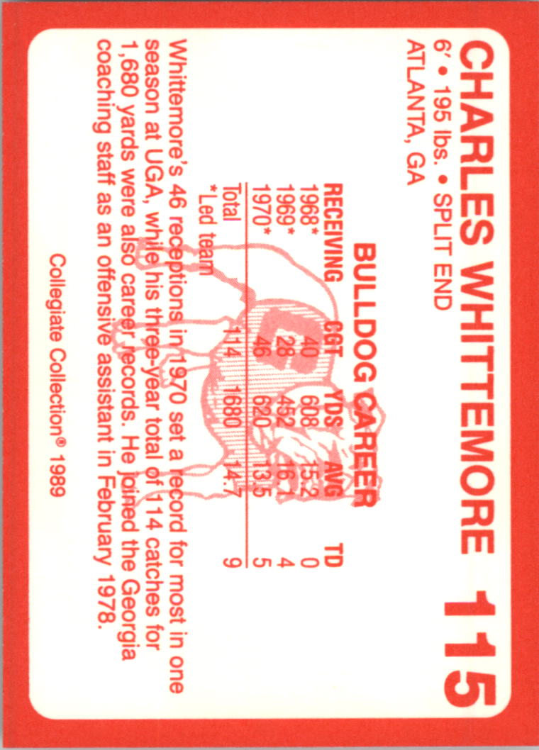 1989-Georgia-200-Football-Card-Pick thumbnail 117