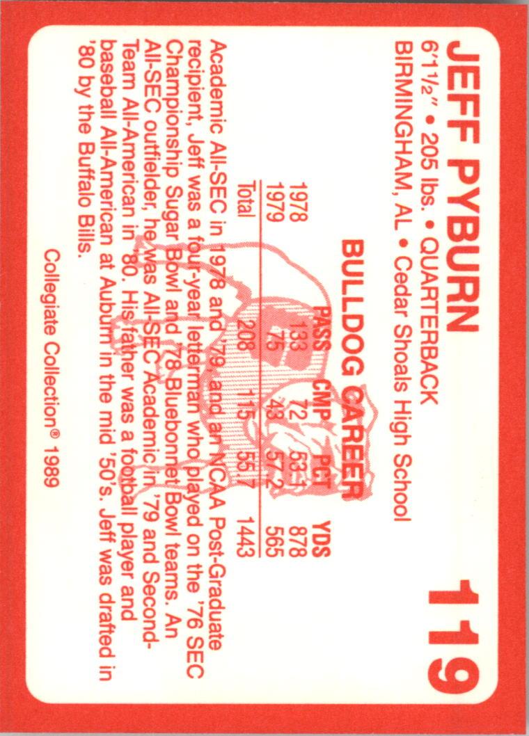 1989-Georgia-200-Football-Card-Pick thumbnail 123