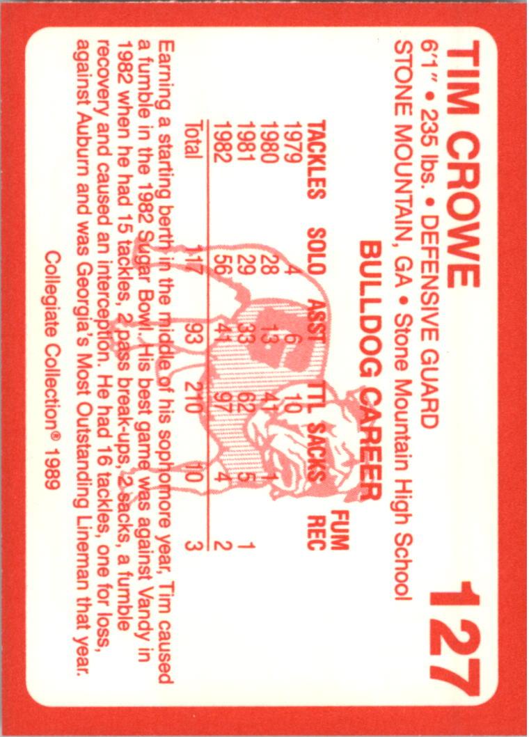 1989-Georgia-200-Football-Card-Pick thumbnail 135