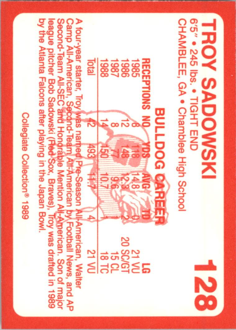 1989-Georgia-200-Football-Card-Pick thumbnail 137