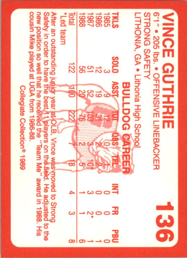 1989-Georgia-200-Football-Card-Pick thumbnail 151