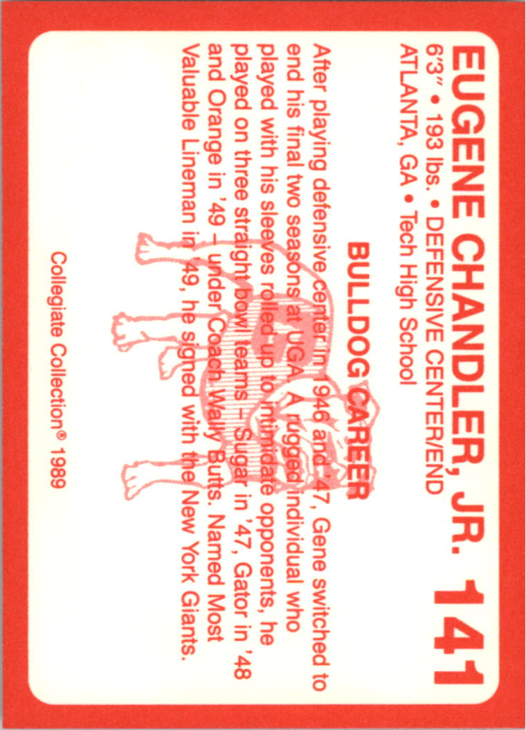 1989-Georgia-200-Football-Card-Pick thumbnail 159