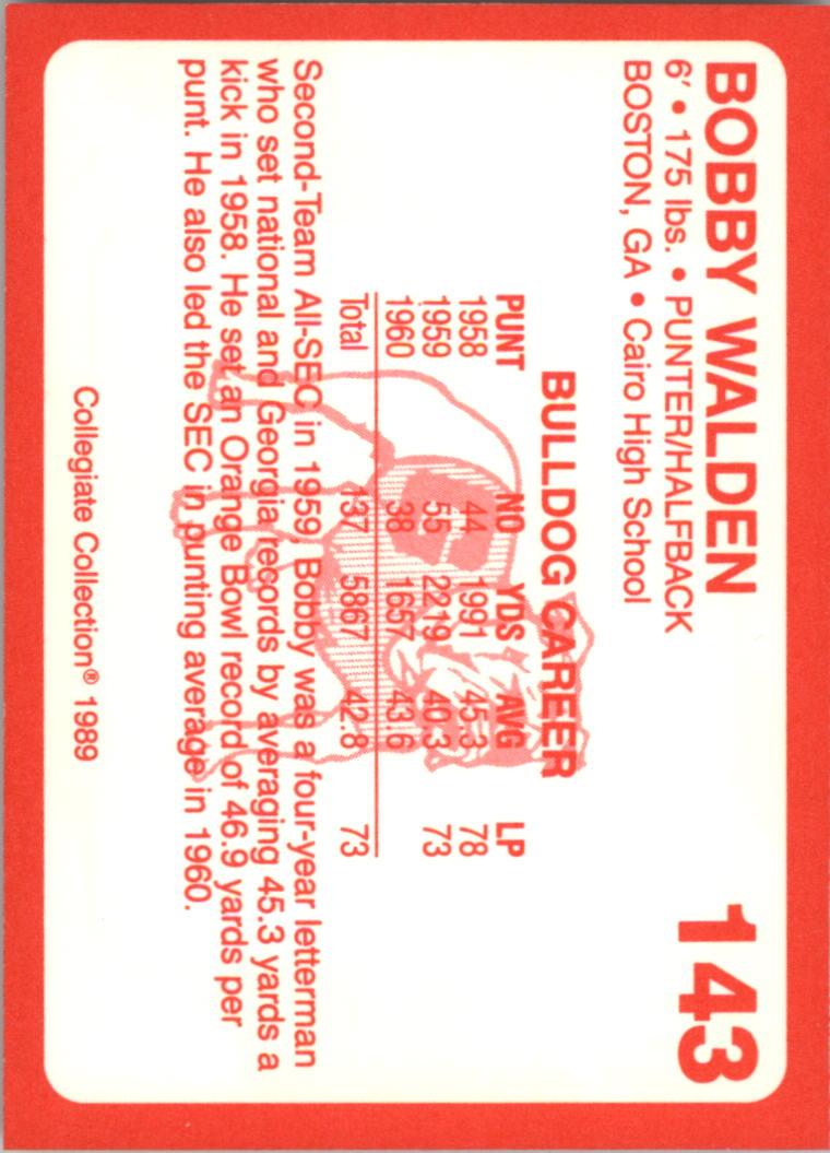 1989-Georgia-200-Football-Card-Pick thumbnail 161