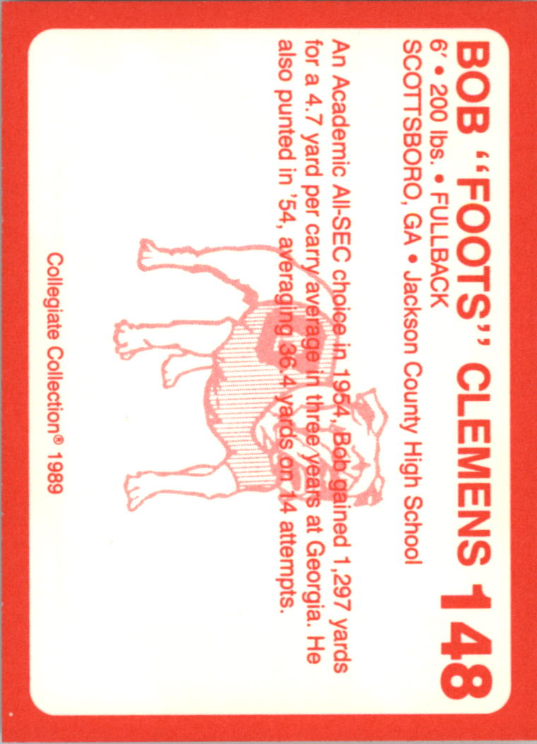 1989-Georgia-200-Football-Card-Pick thumbnail 169