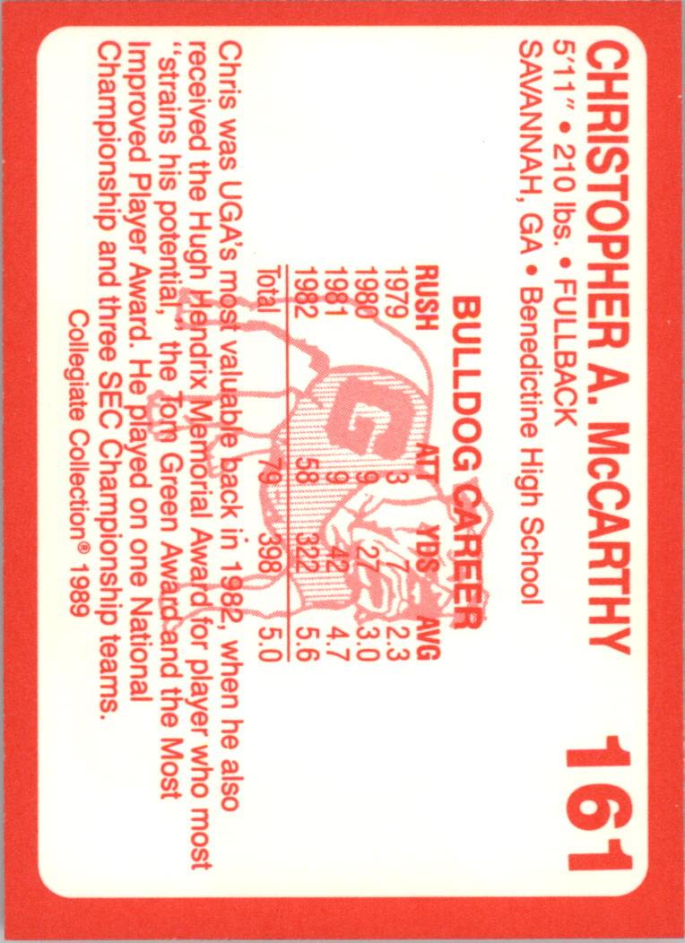 1989-Georgia-200-Football-Card-Pick thumbnail 179