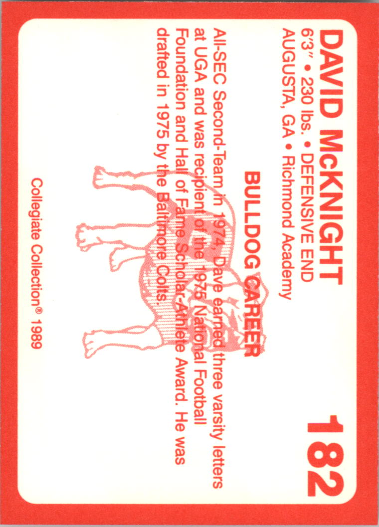 1989-Georgia-200-Football-Card-Pick thumbnail 207