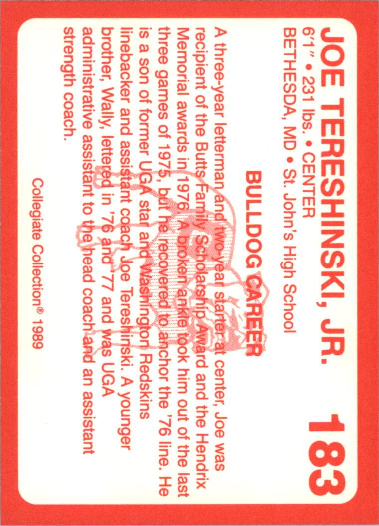1989-Georgia-200-Football-Card-Pick thumbnail 209