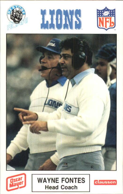 1989 Lions Police #11 Barry Sanders