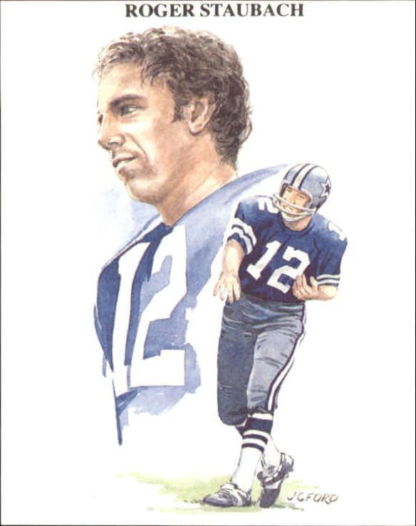 1989 TV-4 NFL Quarterbacks #15 Roger Staubach