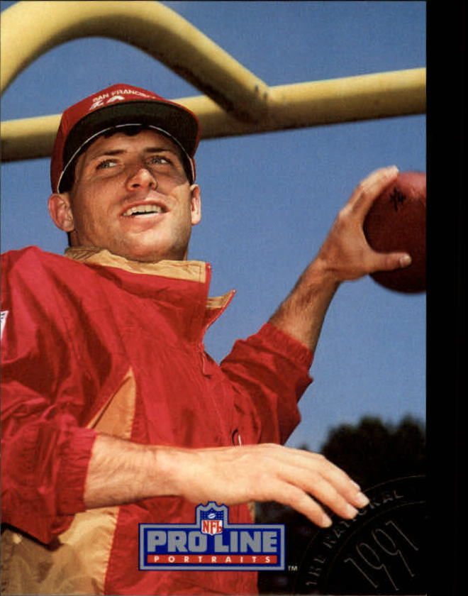 1991 Pro Line Portraits National Convention #8 Steve Young