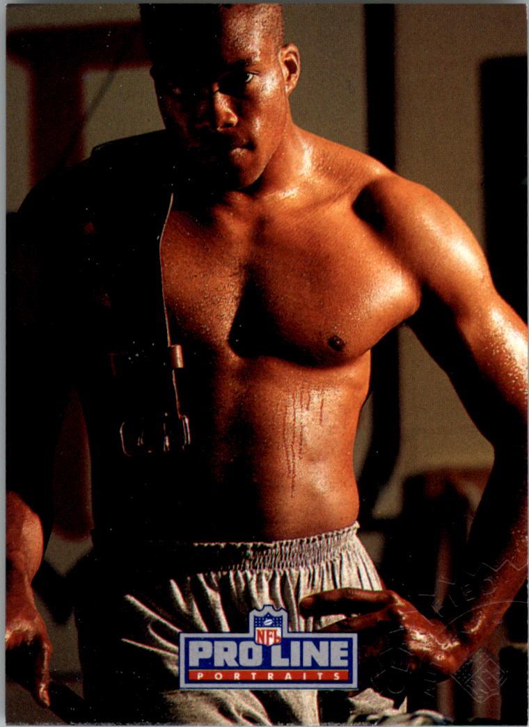 1991 Pro Line Portraits Autographs #14 Reggie Barrett back image