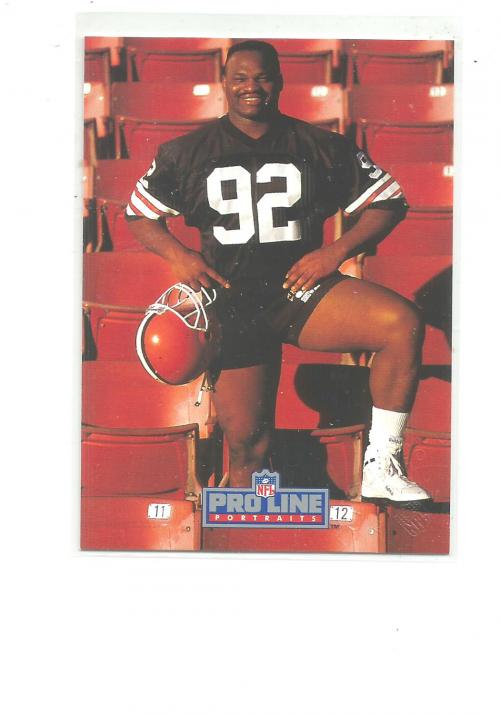 1991 Pro Line Portraits Autographs #197 Michael Dean Perry
