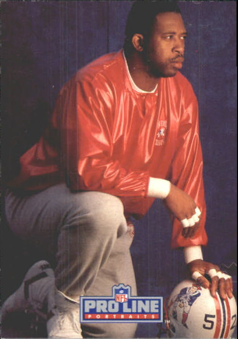 1991 Pro Line Portraits Autographs #210 Johnny Rembert