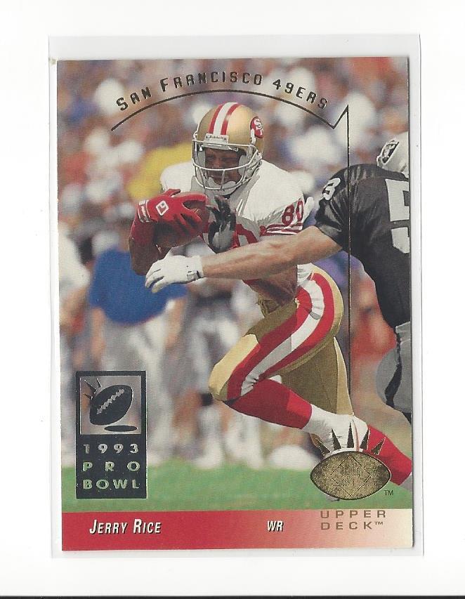 1993 Sp 240 Jerry Rice 49ers Ebay