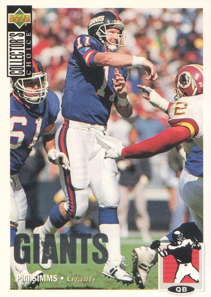 1994 Collector's Choice Silver #233 Phil Simms
