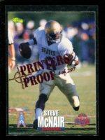 1995 Classic NFL Rookies Printer's Proofs Silver #69 Steve McNair