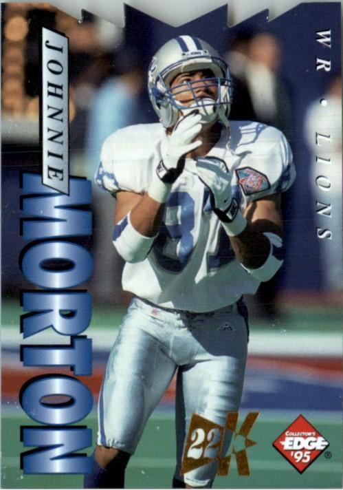1995 Collector's Edge 22K Gold Die Cuts #67 Johnnie Morton