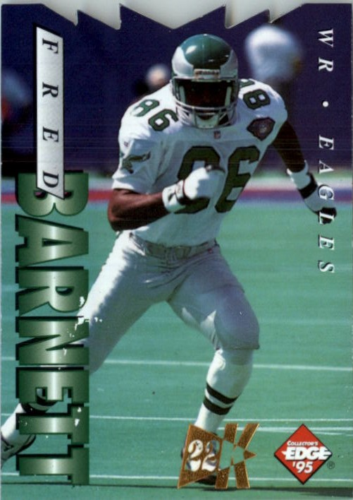 1995 Collector's Edge 22K Gold Die Cuts #153 Fred Barnett