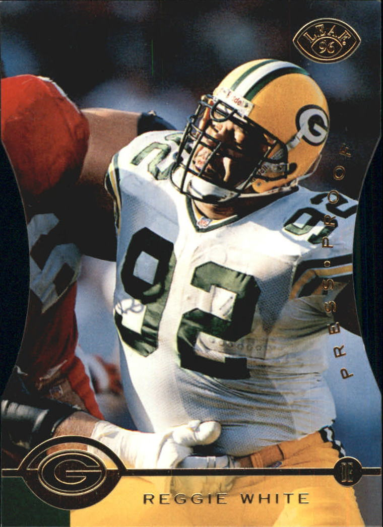 1996 Leaf Press Proofs #41 Reggie White