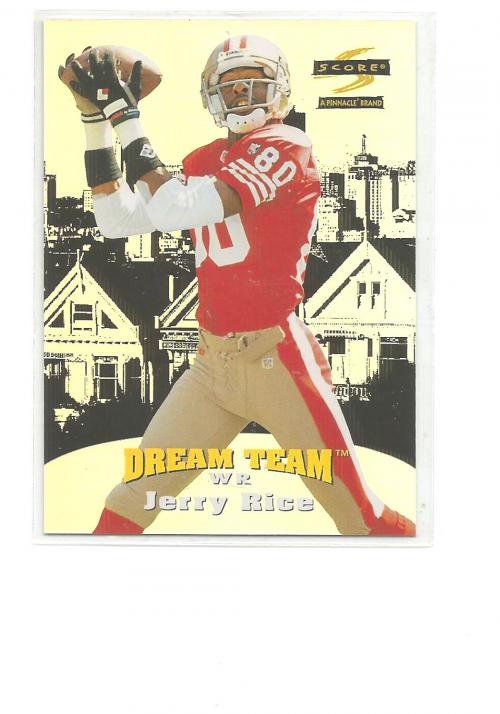 1996 Score Dream Team #9 Jerry Rice