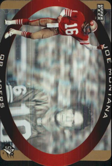 1996 SPx Gold #43 Joe Montana