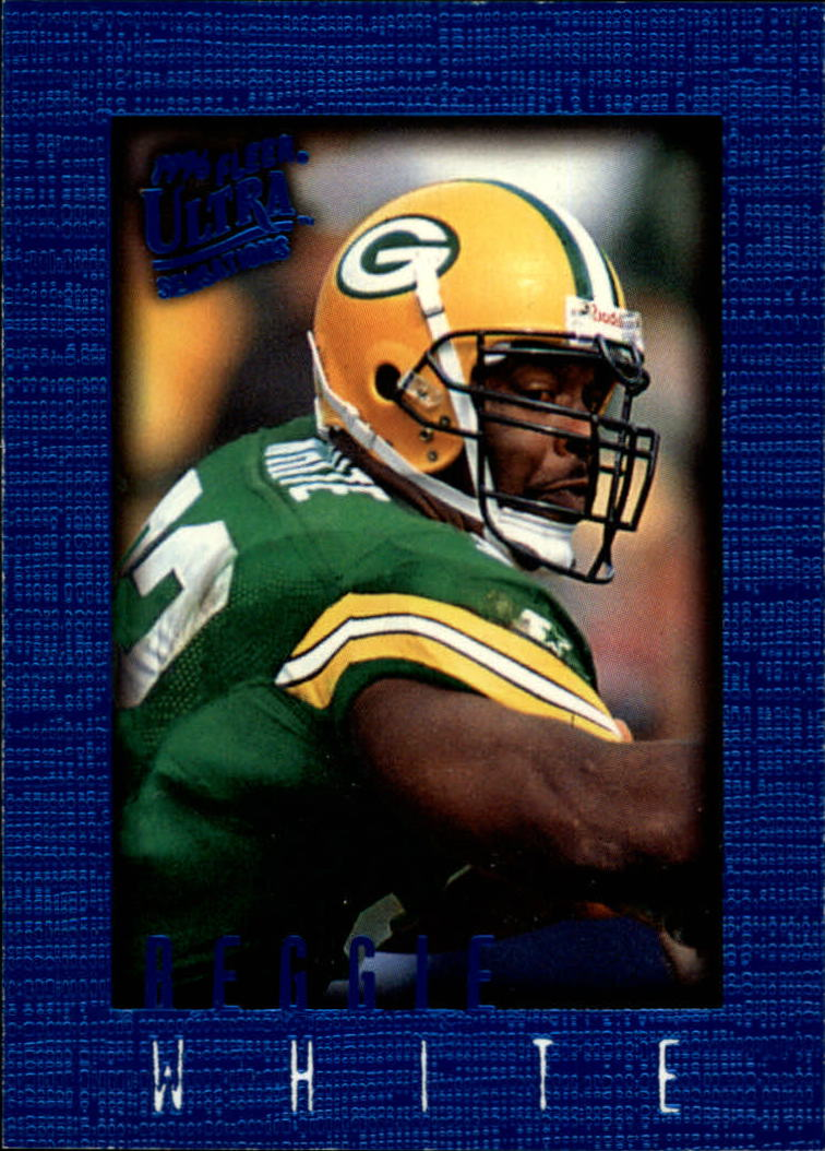 1996 Ultra Sensations Blue #40 Reggie White