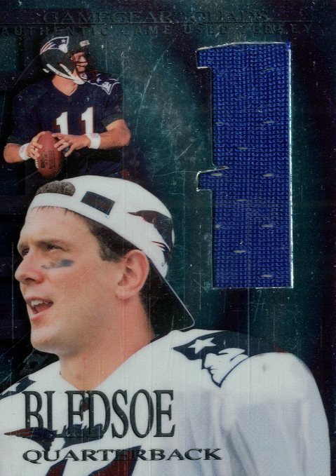 1997 Collector's Edge Extreme Game Gear Quads #3J Drew Bledsoe JSY