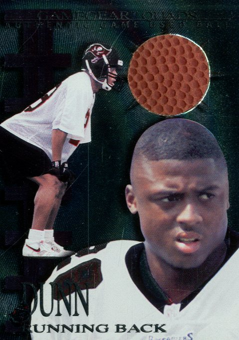 1997 Collector's Edge Extreme Game Gear Quads #9F Warrick Dunn FB