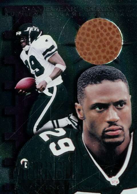 1997 Collector's Edge Extreme Game Gear Quads #15F Adrian Murrell FB