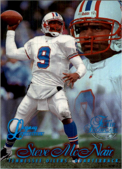 1997 Flair Showcase Legacy Collection #B9 Steve McNair