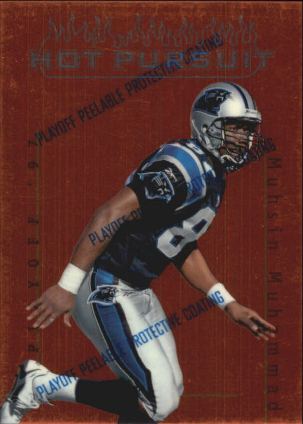 1997 Playoff First and Ten Hot Pursuit #15 Muhsin Muhammad