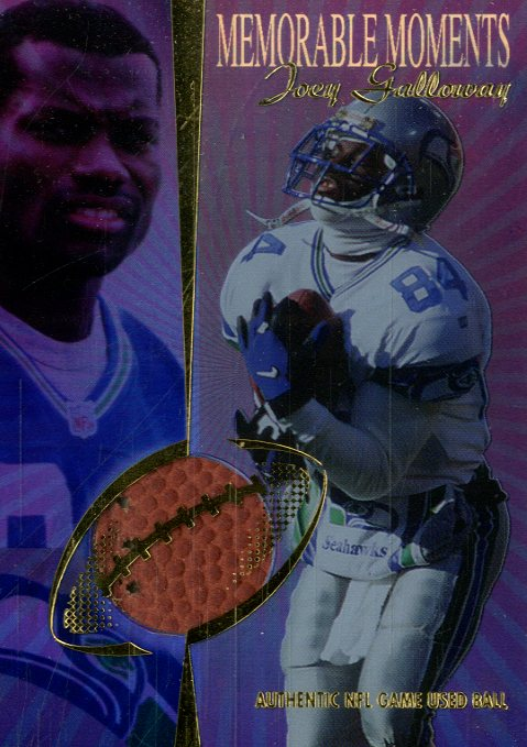 1998 Collector's Edge Advantage Memorable Moments #10 Joey Galloway