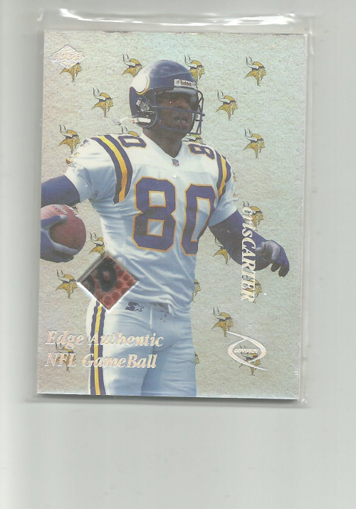 1998 Collector's Edge Odyssey Game Ball #CC Cris Carter