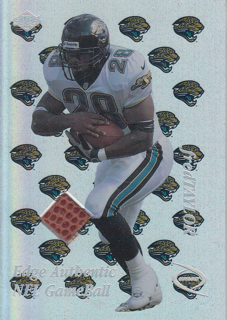 52bad84f 1998 Collector's Edge Odyssey Game Ball #FT Fred Taylor
