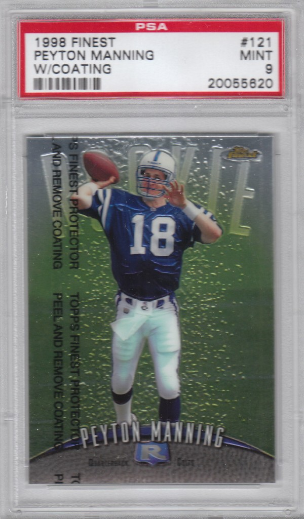 1998 Finest #121 Peyton Manning RC